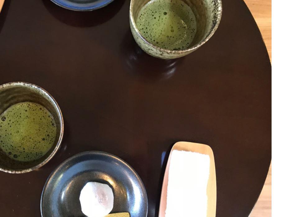 風月無辺お茶菓子