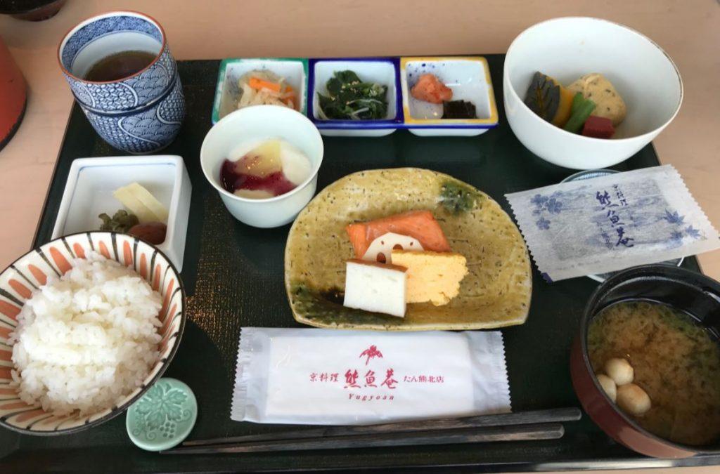 東京ドームホテルたん熊朝食