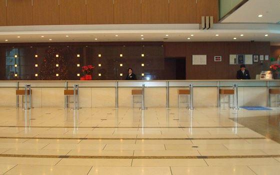 東京ドームホテルフロント