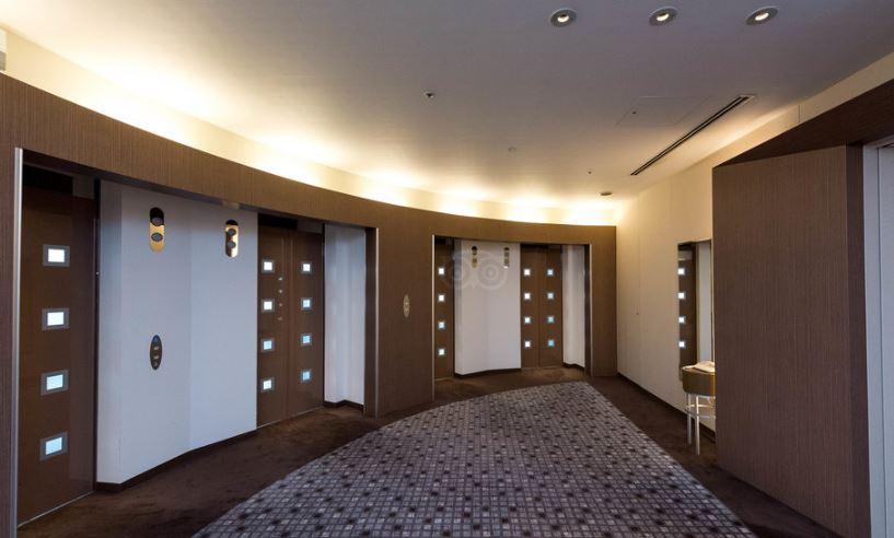 東京ドームホテルエレベーターホール