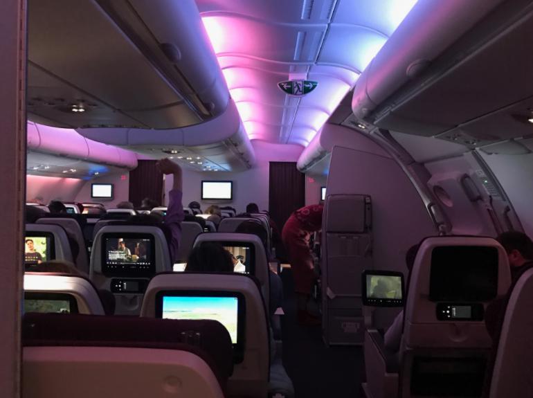 A380-800 カタール航空