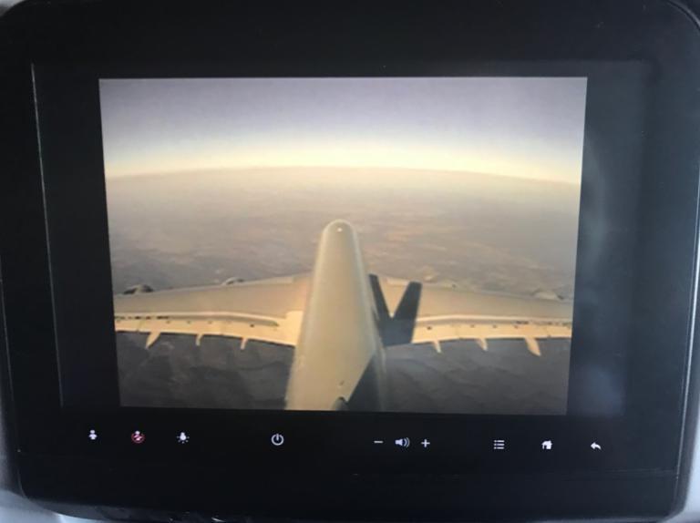 A380-800垂直尾翼カメラ