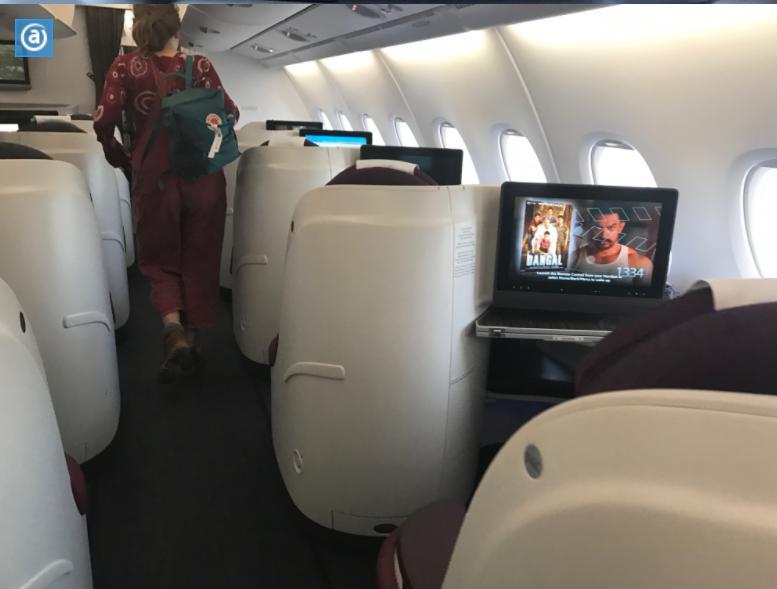 A380-800カタール航空ビジネス