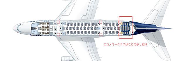A380-800座席表二階