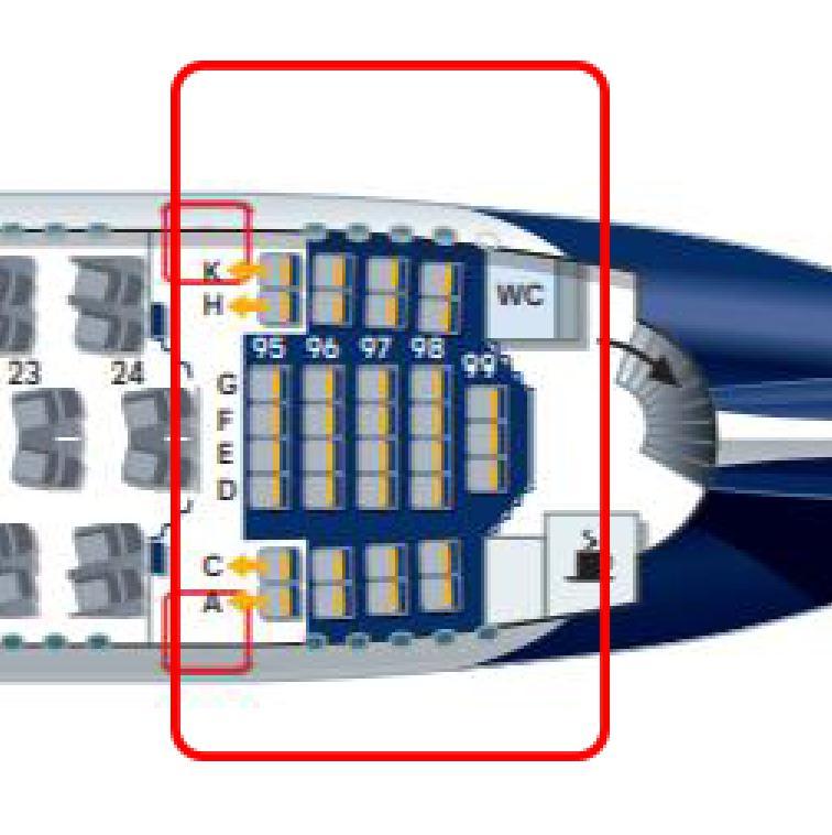 A380-800カタールルフトハンザーデッキ