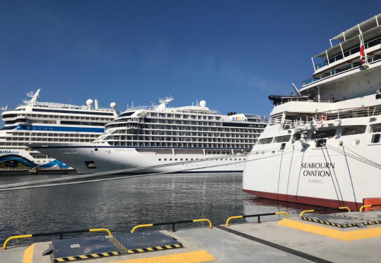 エストニア・タリン港