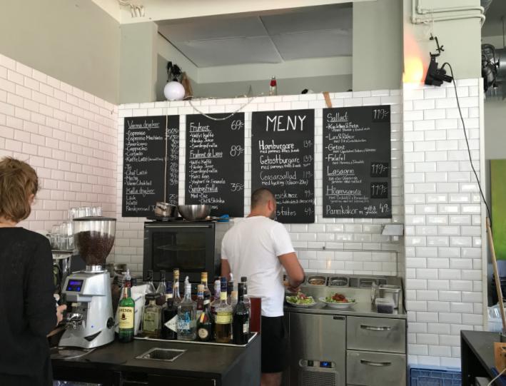ヨーテボリのカフェ