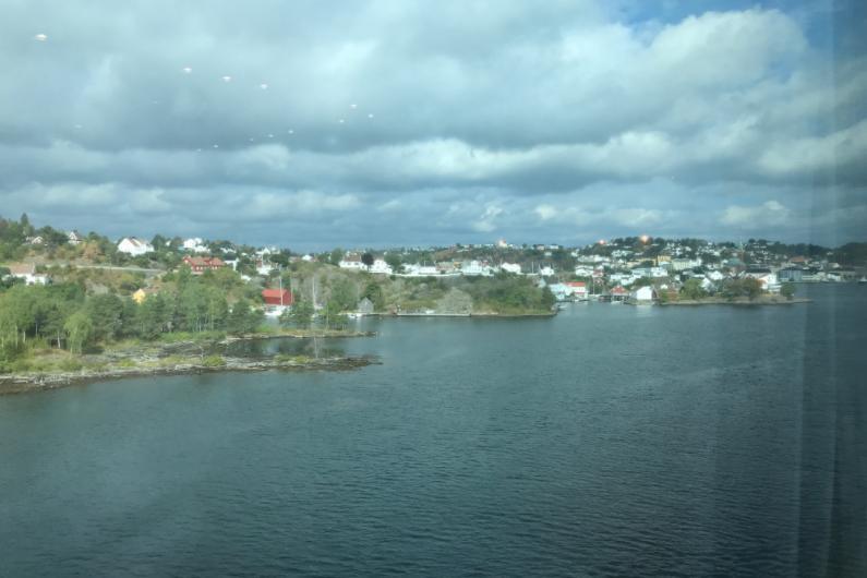 ノルウェーアーレンダール港
