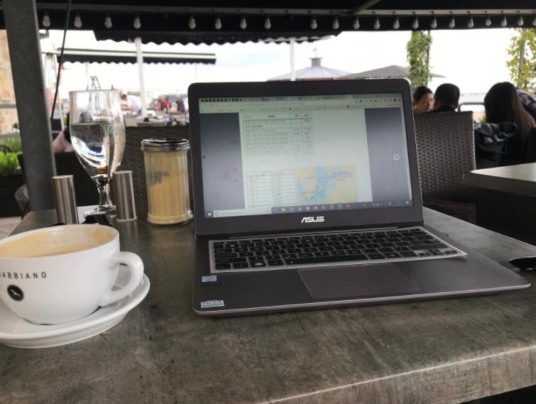 コペンハーゲンカフェのチャイラテ