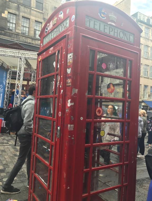 エディンバラ電話ボックス