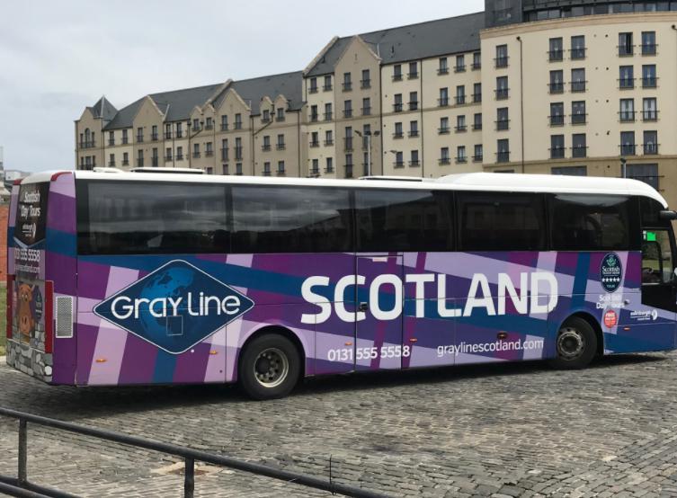 スコットランドシャトルバス