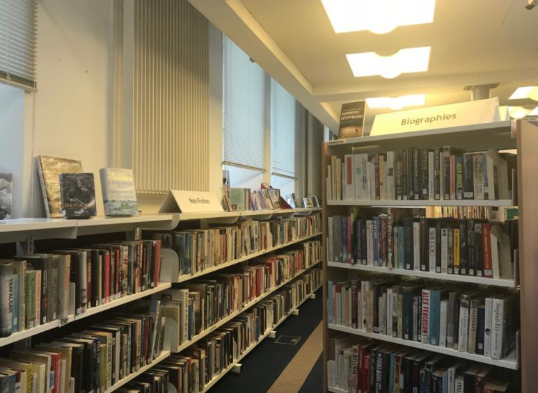 ラーウィックの図書館