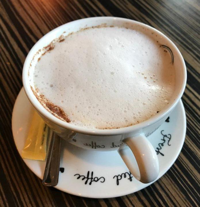 エストニア・タリンでのコーヒー