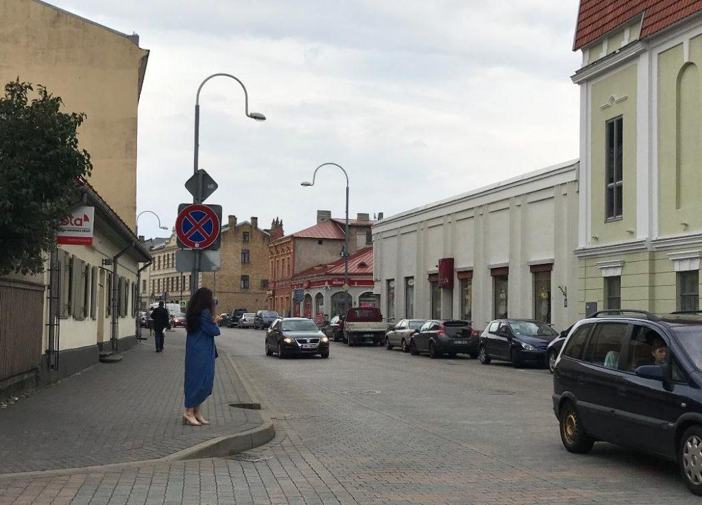 ラトビアの街並み