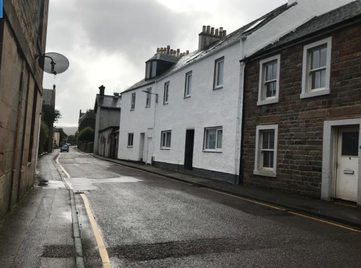 スコットランドキャンベルタウンの街並み