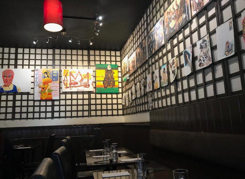 ダブリンの日本食レストラン