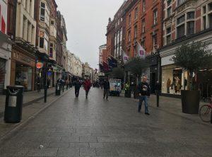 アイルランドの首都ダブリンの街並み