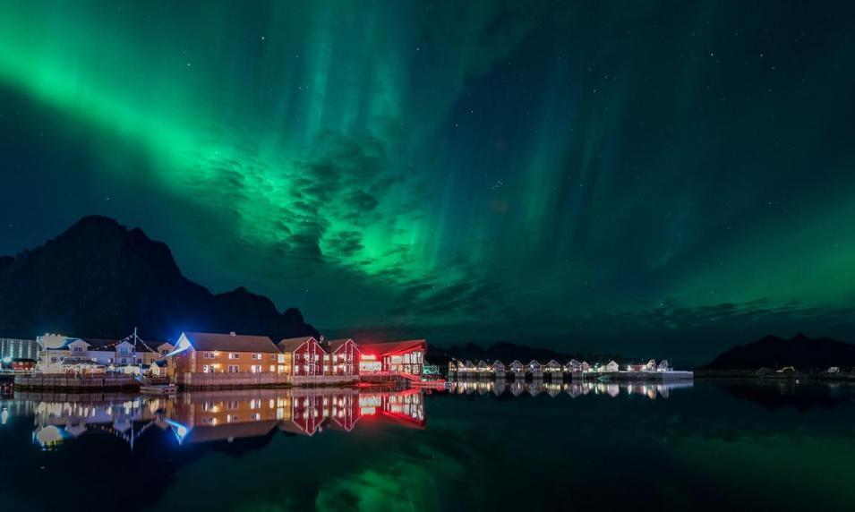 ノルウェースボルベルの街