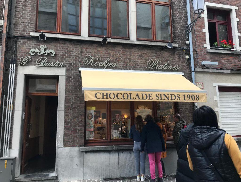 ベルギーアントワープのオススメチョコレート