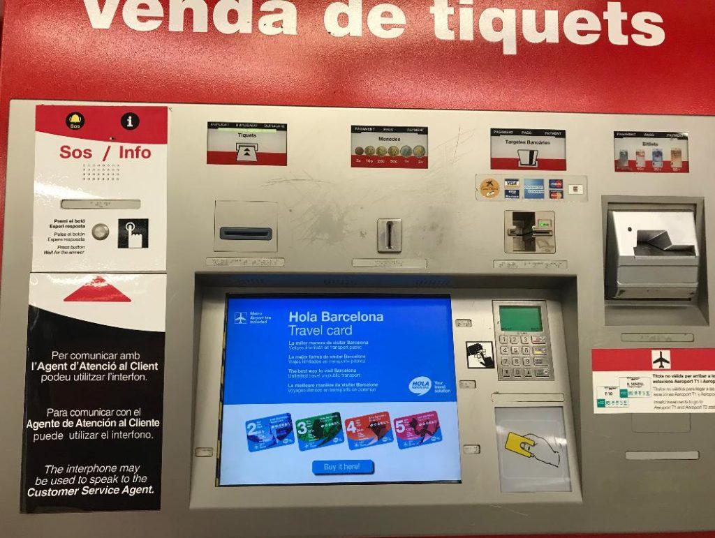 バルセロナのドラサナス駅