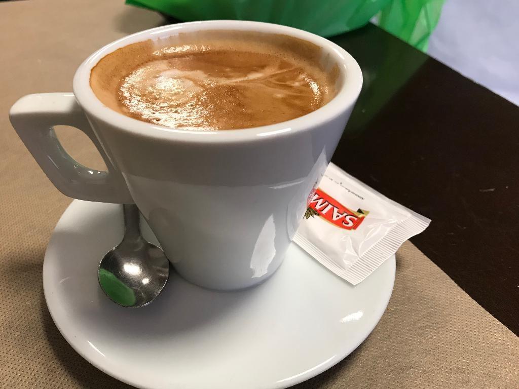 ウエルバのカフェラテ