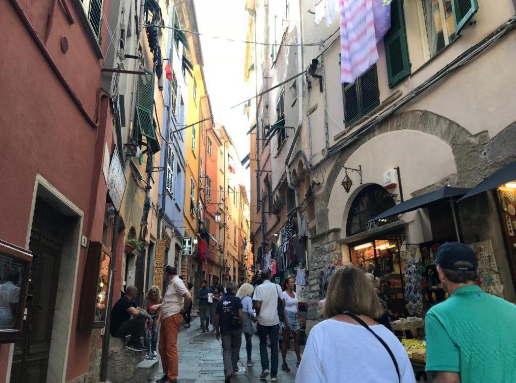 イタリア・ポルトベネーレの街並み