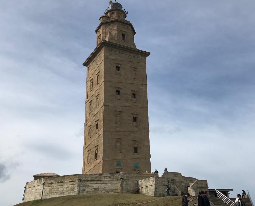 スペイン・ラ・コルーニャのヘラクレスの塔