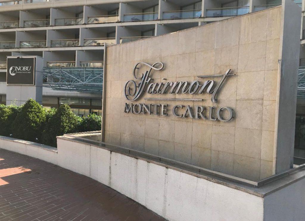 モンテカルロのヘアピンカーブ前のホテル