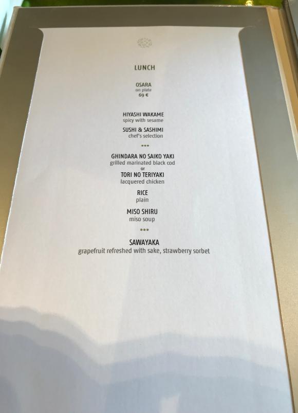 モンテカルロの日本食レストランYoshi
