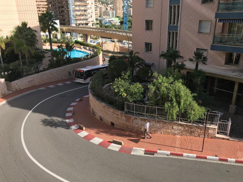 モナコ・モンテカルロのローズヘアピン