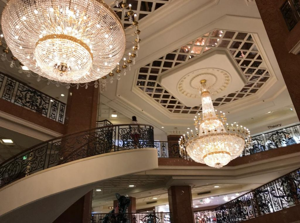 モナコのショッピングセンター