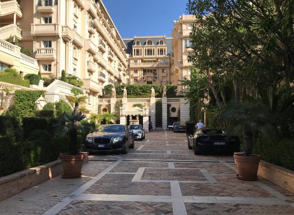 モナコのモンテカルロ・ホテルメトロポール
