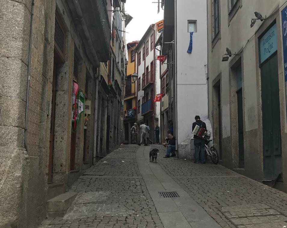 ポルトガル・ポルトの路地裏