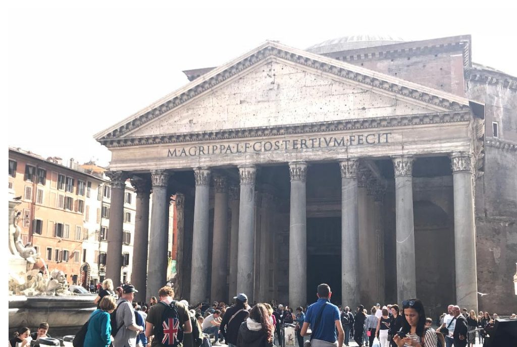 ローマのパンテオン神殿