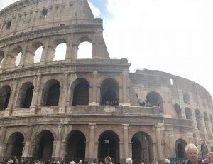 イタリアローマのコロッセオ
