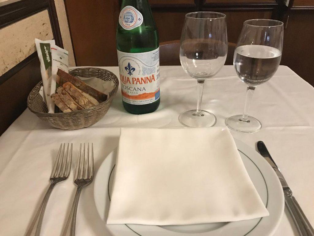 イタリア・ローマのレストラン