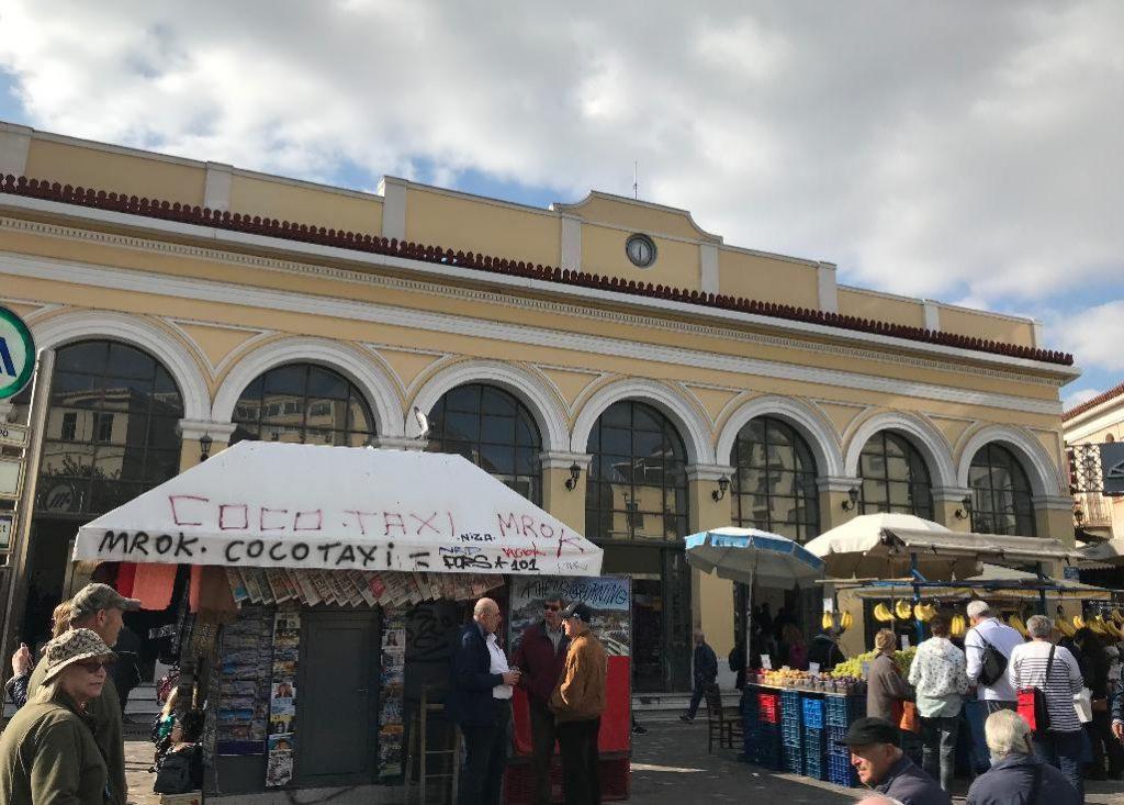 アテネのモナスティラキ駅周辺