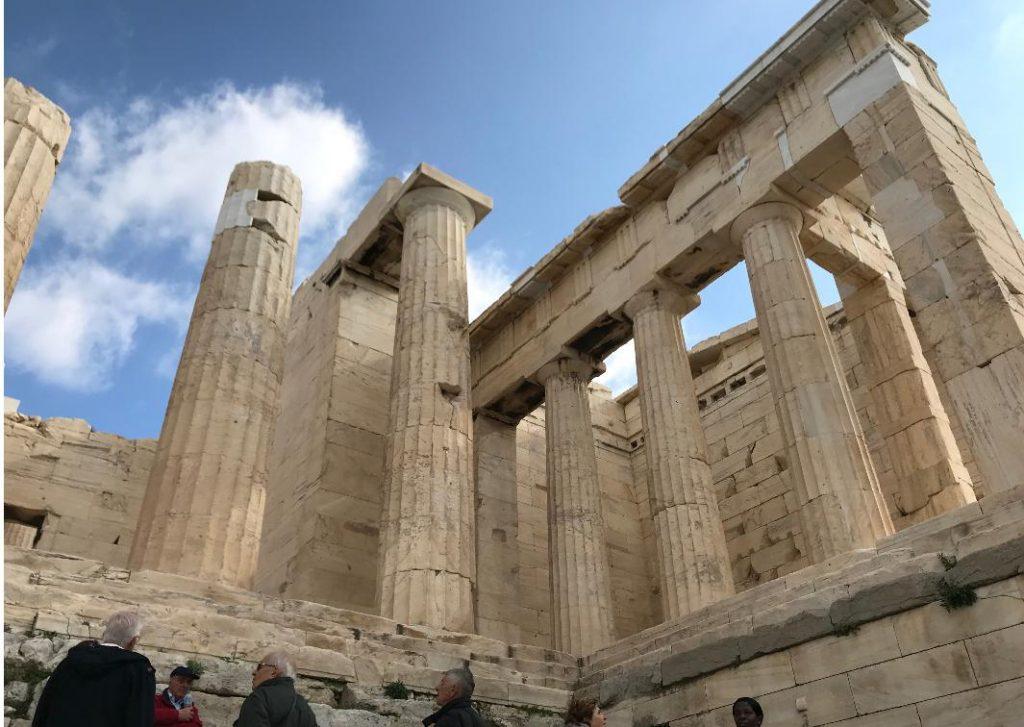 パルテノン神殿前門
