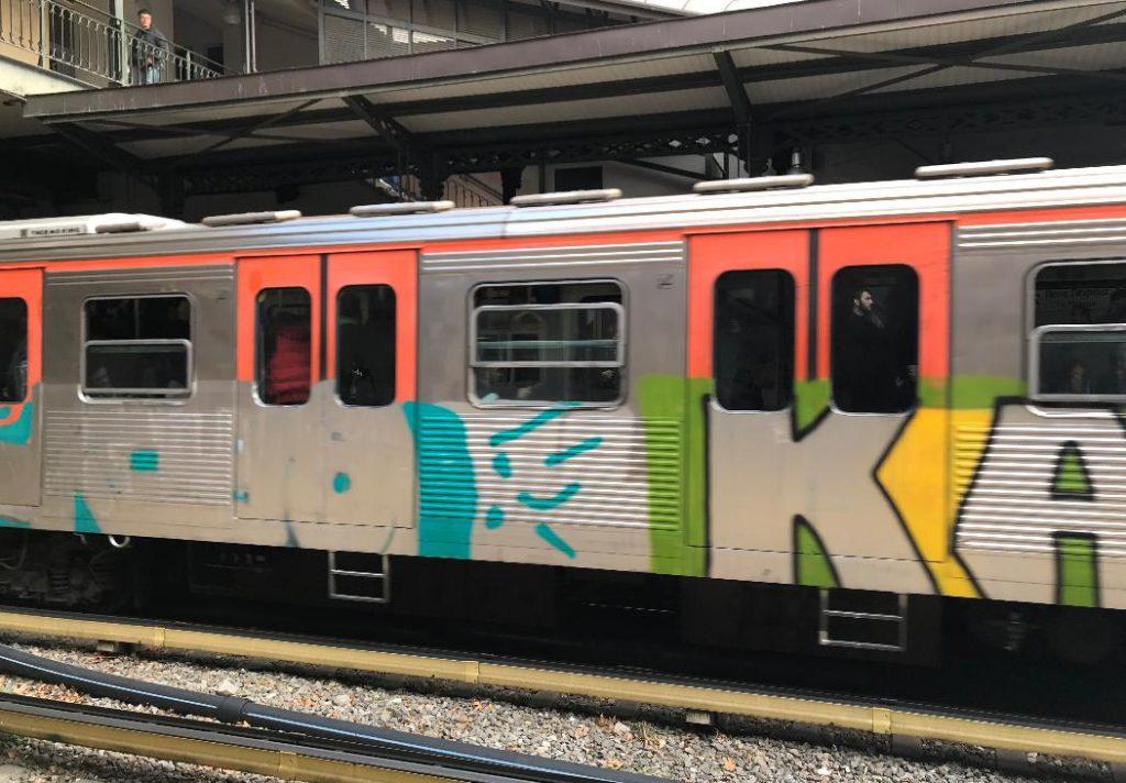 ギリシャの電車