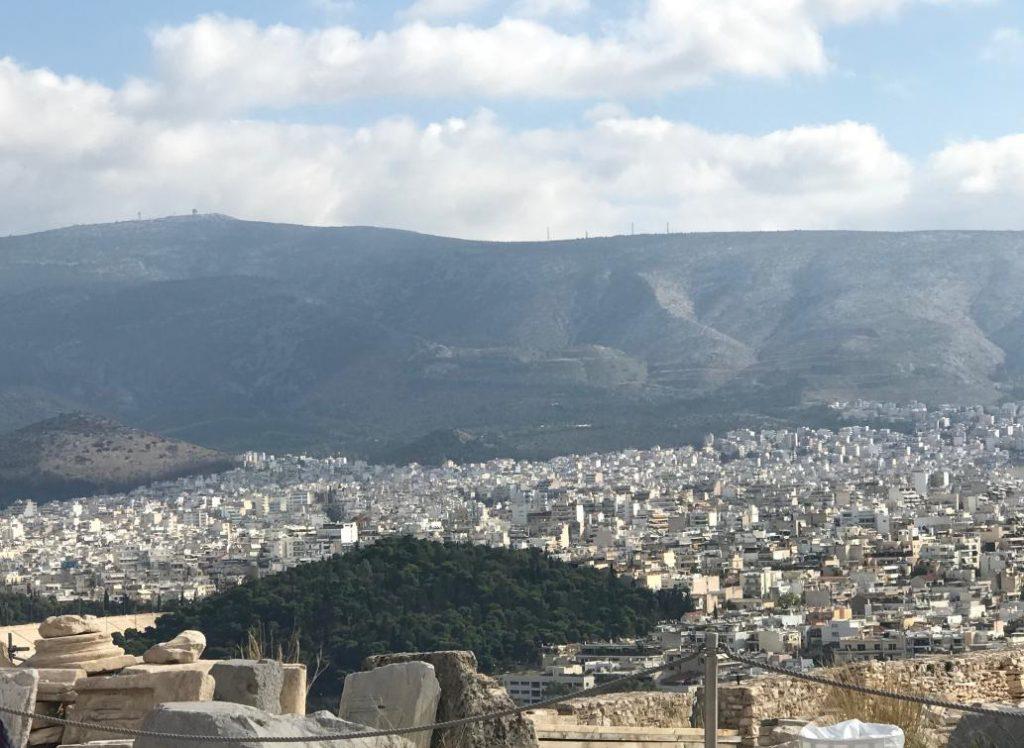 アクロポリスからの景色