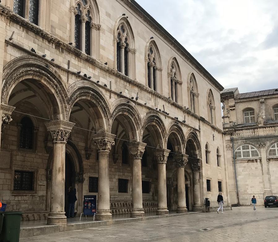 クロアチア・ドブロブニクの総督住居