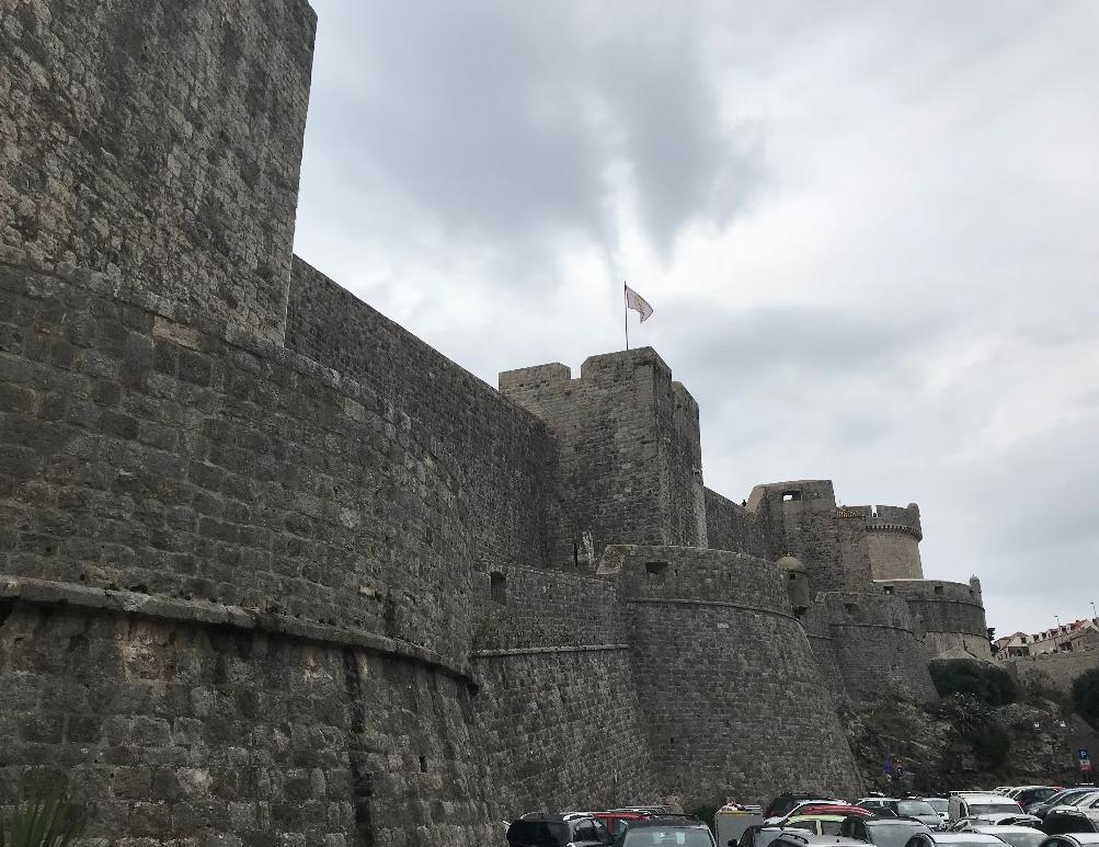 クロアチア・ドブロブニクのロブリイェナッツ要塞