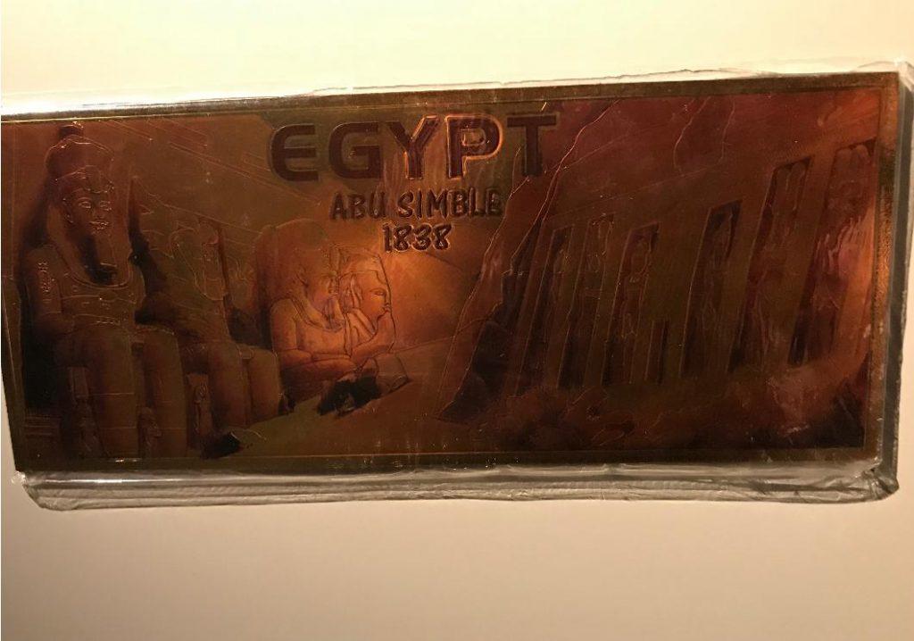 エジプシャンが持ってきたマグネット