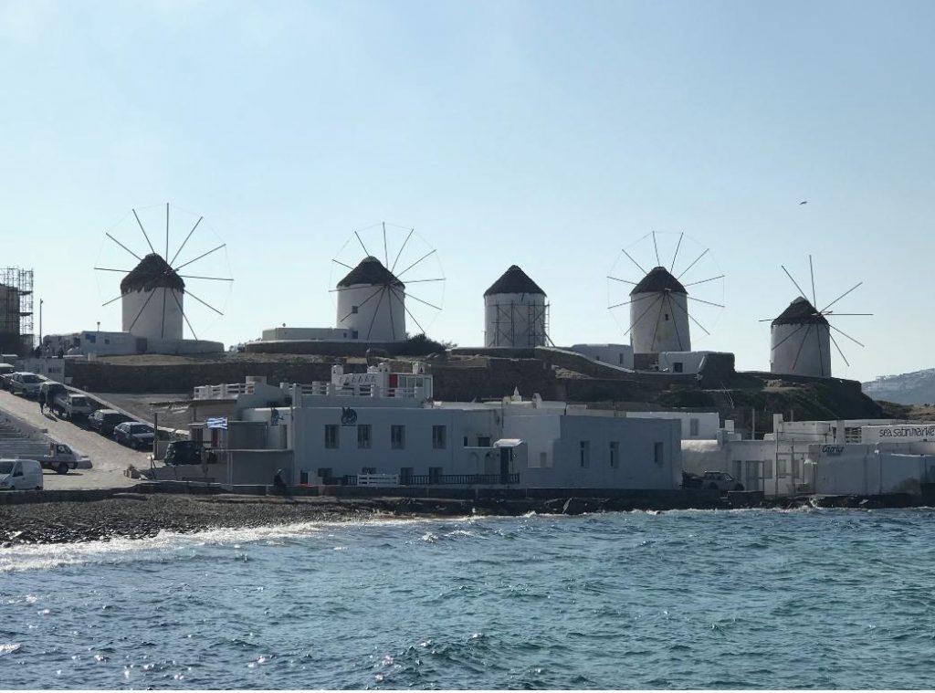 ミコノス島のカトミリの風車
