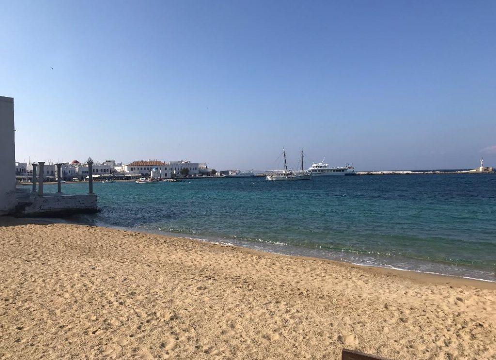 ミコノス島のビーチその1