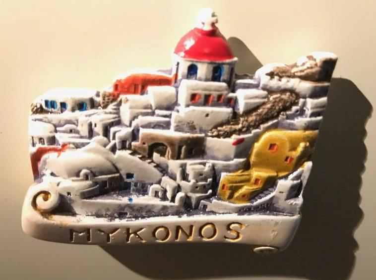 ギリシャ・ミコノス島のマグネット