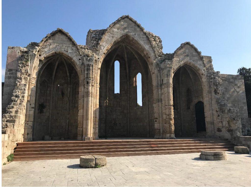 ロドス島中世都市