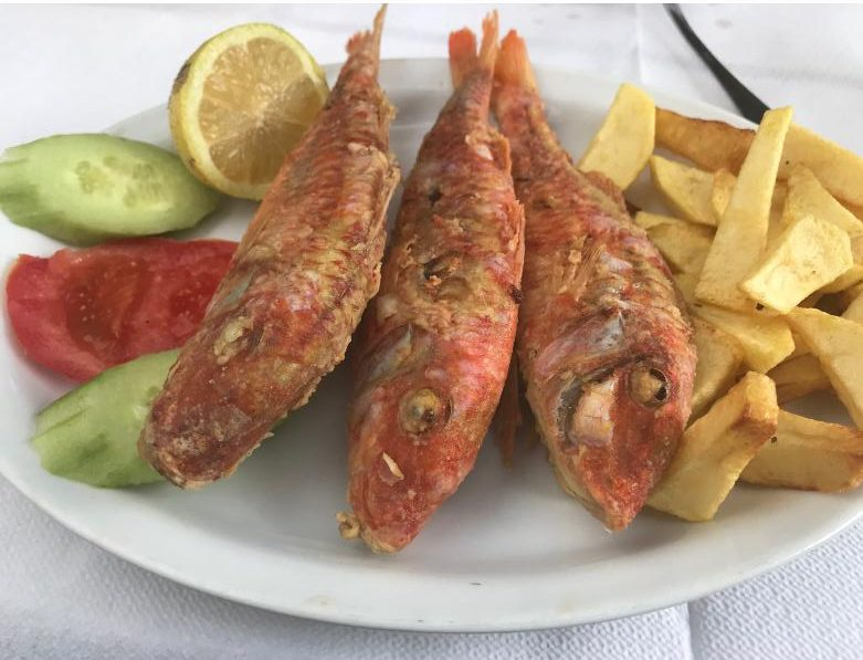 クレタ島のレストラン