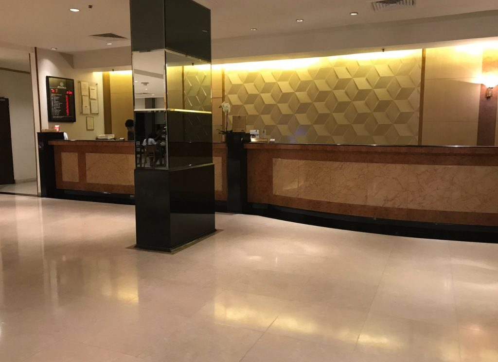 シンガポールミラマーホテル