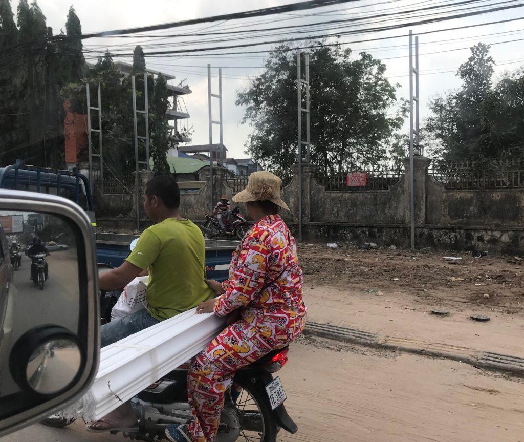 カンボジアの交通ルール